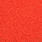 Miyuki delica beads 11 (2mm) orange flashy-les 20 g