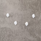 """Silverite """"AA"""" talisman 8x11mm  2.9x4=11.6€"""