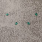 """Onyx vert """"AA"""" goutte 4x6mm 1.7€x4=6.8€"""