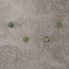 Tourmaline verte square 6mm 2.9€x4=11.6€