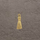 "Pompon new 10mm ""gold"" 0.6x5=3€"