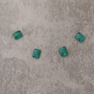 Onyx vert rect 8x10mm 3.4€x4=13.6€