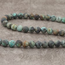 Turquoise Africaine mat 8mm