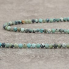 Turquoise Africaine mat 3mm