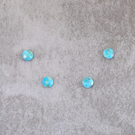 Turquoise naturelle pastille 8mm 2.8x4=11.2€