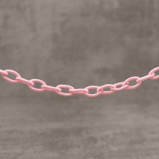 Chaine synthétique rose 1,80€x3.60M=6.48€
