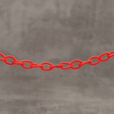 Chaine synthétique ROUGE/1.80€x3.60M=6.48€