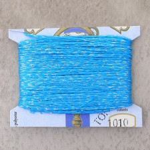 fil 4 brins (0.25mm le brin) turquoise/or - 10 mètres