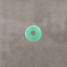 """Calcédoine verte """"AA"""" donuts 12mm 4.3€x2=8.6€"""