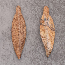 Jaspe paysagé d'Afrique du Sud 14x50mm-4.4x2=8.8€