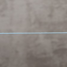 Polyester 0.5mm bleu azur 0.29€x10m=2.90€