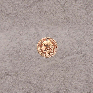 """Estampe """"César"""" 12mm pl.or 0.5 mic 0.85€x6=5.1€"""