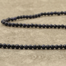Blue sand stone facettée 3mm
