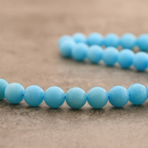 "Jade ""bleu lagon"" 12mm"