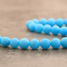 "Jade ""bleu lagon"" 14mm"