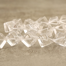 Cristal de roche du Brésil cube diag 14mm