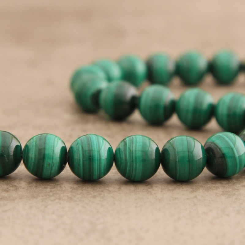 Malachite de colombie 14mm